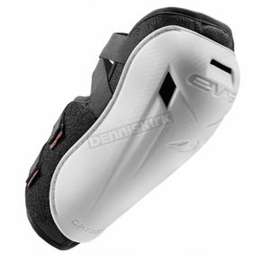 EVS Sports Youth White Option Elbow Guard - OPTE16-W-Y