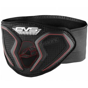 EVS Sports Black BB1 Celtek Air Kidney Belt - KBBB1A-XXL