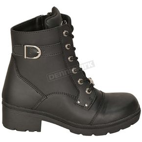 Milwaukee Motorcycle Clothing Co. Women's Black Onyx Boots - MB25214