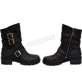 Women's Black Cameo Boots
