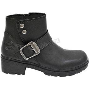 Milwaukee Motorcycle Clothing Co. Women's Black Capri Boots - MB25414