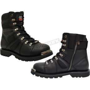 Milwaukee Motorcycle Clothing Co. Black Ranger Boots - MB45720