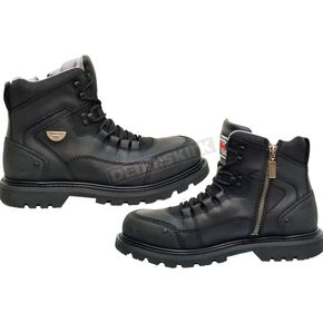 Milwaukee Motorcycle Clothing Co. Black Explorer Boots - MB45823