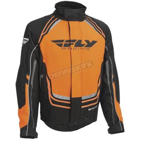Fly Racing Black/Orange SNX Pro Jacket - 470-4028M