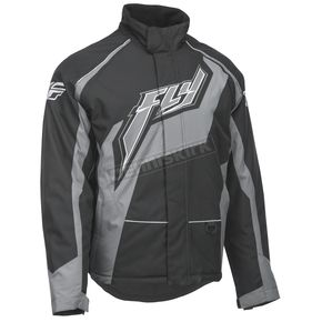 Fly Racing Black/Gray Outpost Jacket - 470-40102X