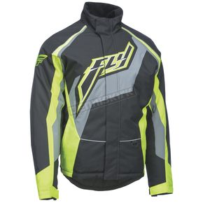 Fly Racing Black/Gray/Hi-Vis Outpost Jacket - 470-40192X