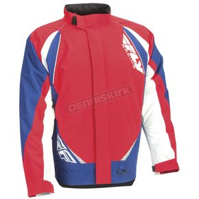 Fly Racing Red/White/Blue Aurora Jacket - 470-4002S