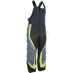 Fly Racing Black/Gray/Hi-Vis Outpost Bibs - 470-42192X