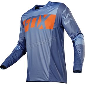 Fox Orange/Blue Flexair Libra Jersey - 14960-592-M