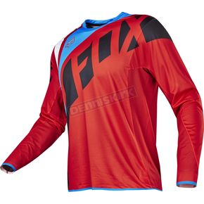 Fox Red Flexair Seca Jersey - 17239-003-S