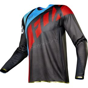 Fox Gray/Red Flexair Seca Jersey - 17239-037-S