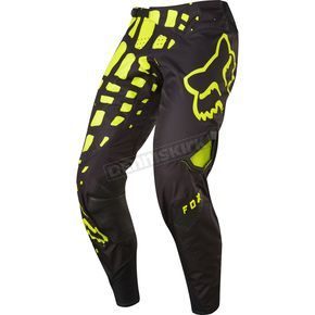 Fox Black/Yellow 360 Grav Pants - 17244-019-34