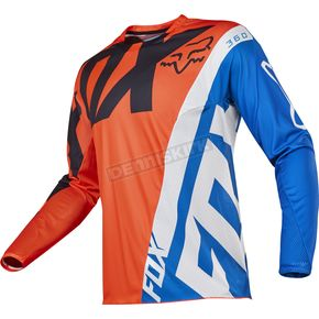 Fox Youth Orange 360 Creo Jersey - 17251-009-L