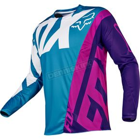 Fox Teal 360 Creo Jersey - 17245-176-2X