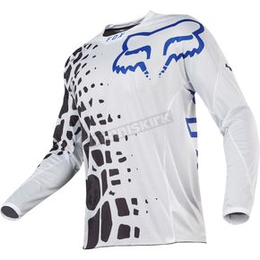 Fox White 360 Grav Airline Jersey - 18226-008-M