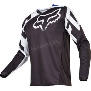 Fox Youth Black 180 Race Jersey - 17265-001-XL
