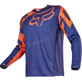 Fox Blue Legion LT Offroad Jersey - 18236-002-2X