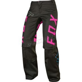 Fox Women's Black Switch Pants - 17193-001-12