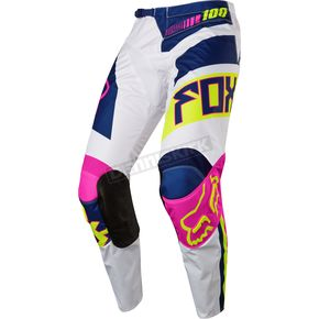 Fox Youth Navy/White 180 Falcon Pants - 17863-045-26