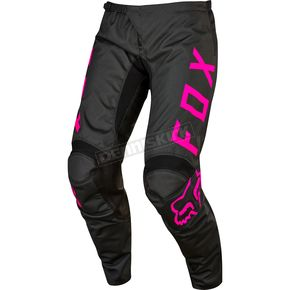 Fox Youth Girl's Black/Pink 180 Pants - 17276-285-26