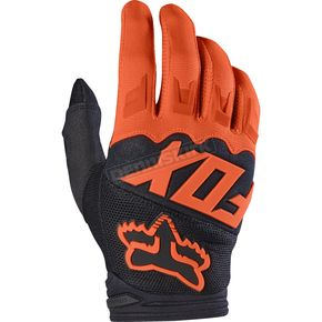 Fox Orange Dirtpaw Race Gloves - 17291-009-XL