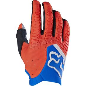 Fox Orange Pawtector Gloves - 17286-009-2X