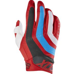 Fox Red Airline Seca Gloves - 17288-003-XL