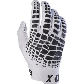 Fox White 360 Grav Gloves - 17289-008-L