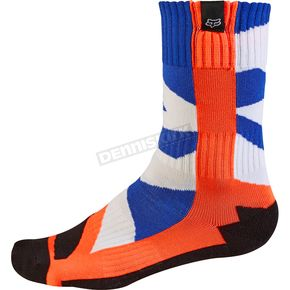 Fox Youth Orange MX Creo Socks - 17813-009-S