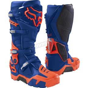Fox Blue Instinct Offroad Boots - 17802-002-8