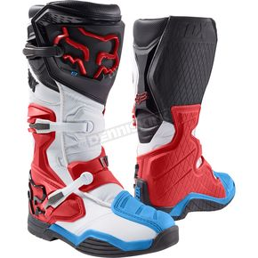 Fox Red/White Comp 8 Boots - 16451-054-8