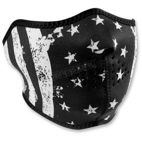 Zan Headgear Flag Half Face Mask - WNFM091H