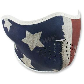 Zan Headgear Patriot Half Face Mask - WNFM408H