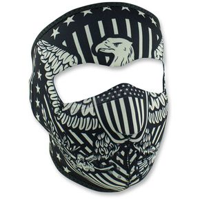 Zan Headgear Vintage Eagle Full Face Mask - WNFM412