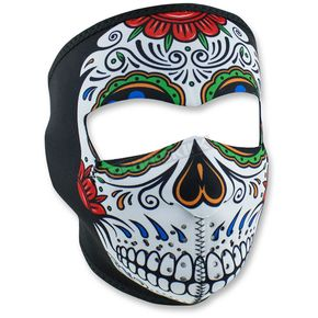 Zan Headgear Muerte Skull Full Face Mask - WNFM413