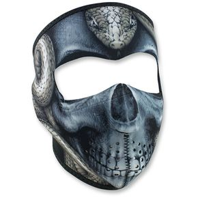 Zan Headgear Snake Skull Full Face Mask - WNFM415