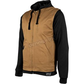 Speed and Strength Brown Bikes Are In My Blood Hoody w/Vest - 884203