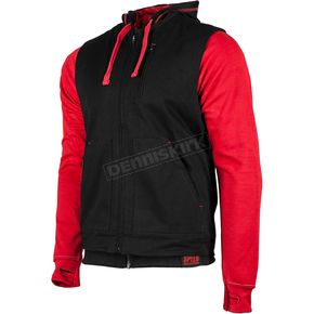 Speed and Strength Red Bikes Are In My Blood Hoody w/Vest - 884205