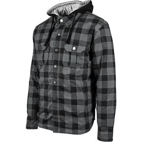 Speed and Strength Black Standard Supply Moto Shirt - 884224