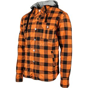 Speed and Strength Orange Standard Supply Moto Shirt - 884231