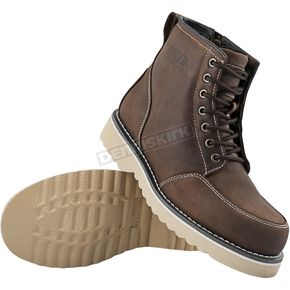 Speed and Strength Brown Overhaul Boots - 884347