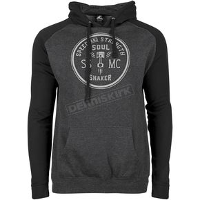 Speed and Strength Black/Gray Soul Shaker Hoody - 871601