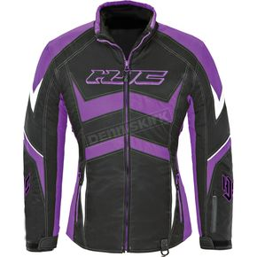 HJC Women's Black/Purple Survivor Jacket - 1615-084