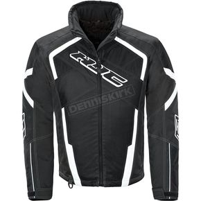 HJC Black/White Storm Jacket - 1617-052