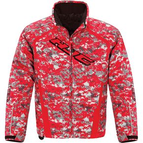 HJC Red Camo Storm Jacket - 1617-125