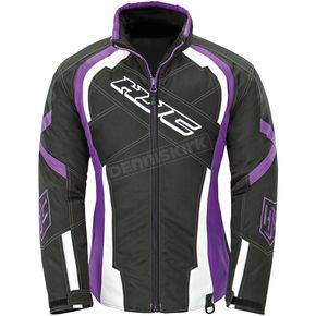 HJC Women's Black/Purple Storm Jacket - 1619-081