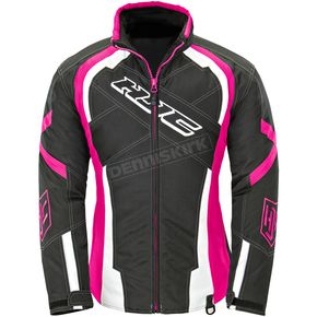 HJC Women's Black/Pink Storm Jacket - 1619-091