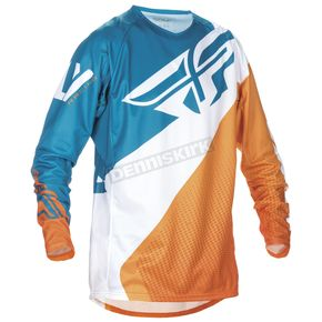 Fly Racing Orange/Dark Teal Evolution 2.0 Jersey - 370-227L