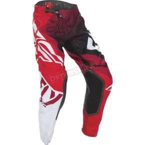 Fly Racing Red/Black Evolution 2.0 Pants - 370-23230