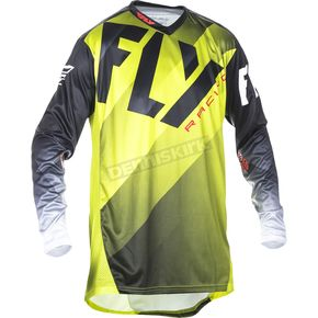 Fly Racing Lime/Black/White Lite Hydrogen Jersey - 370-7252X